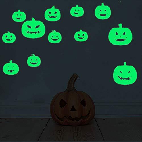 Kostüm Unheimlich Fledermaus - Leuchtende Fledermaus Wandaufkleber Halloween hot fluoreszierende Aufkleber Außenhandel hot Heimtextilien
