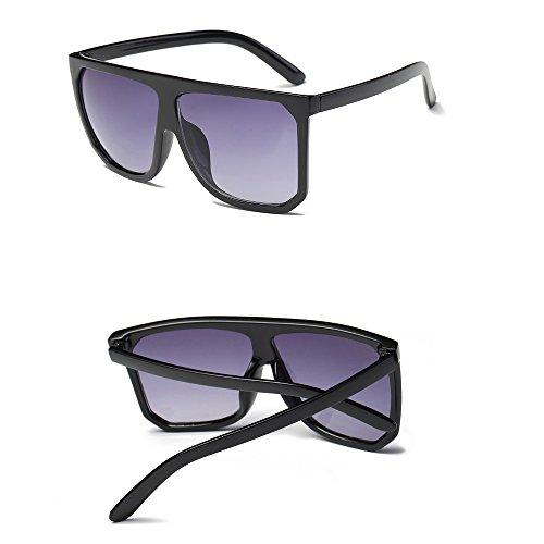NINGSANJIN Sonnenbrille Frauen Herren Vintage Retro Square Frame Brillen Unisex Mode Sonnenbrillen D