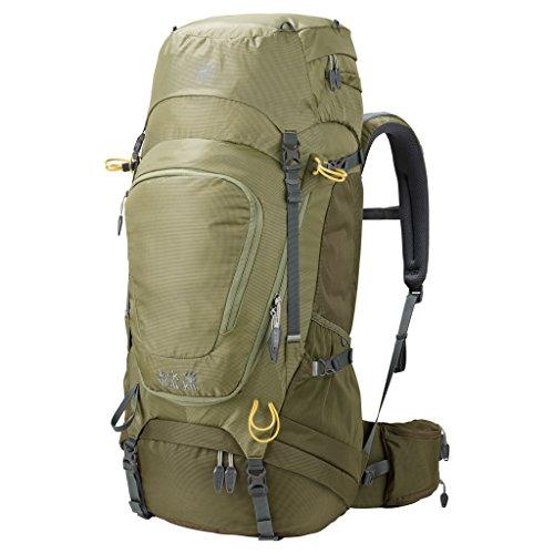 Jack Wolfskin Highland Trail XT 50 Rucksack, Khaki, ONE Size