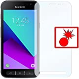 """2 x Slabo Panzerschutzfolie Samsung Galaxy Xcover 4 Panzerfolie Displayschutzfolie Schutzfolie Folie """"Shockproof"""" KLAR - unsichtbar MADE IN GERMANY"""