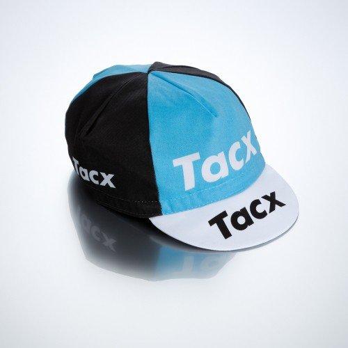 Tacx Maillot de ciclismo de gorro, negro de color azul, One size