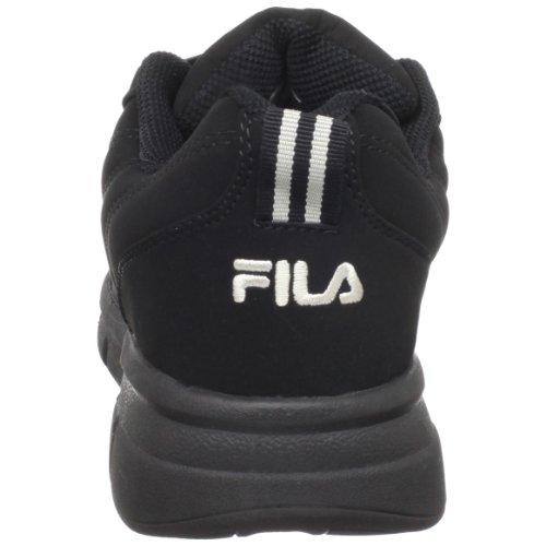 Fila, Sneaker uomo Black/Black/Metallic Silver