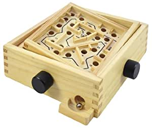 Eduplay Holz Labyrinth klein mit 2 Kugeln