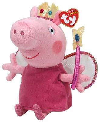Ty peluche - princesa Peppa Pig 16.cm - Peppa Pig Serie por Ty
