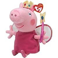"Peppa Pig Princess Peppa Beanie Baby, plush toys (Approximately 7"" tall)"