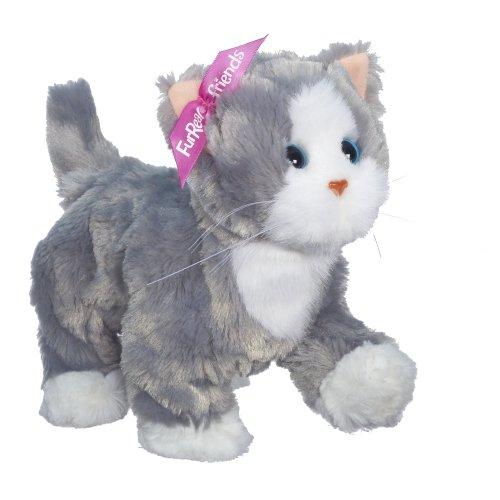 Preisvergleich Produktbild FurReal Friends Lulu Laufendes Kätzchen Bootsie, Grau/Weiß