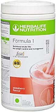 Herbalife Nutrition Formula 1 Shake for Weight Loss (Strawberry, 500 g)