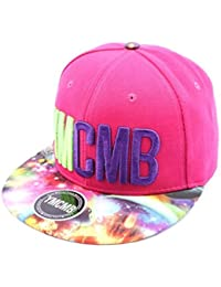 Snapback Ymcmb Rose et Visière Cosmos - Mixte