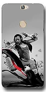 SEI HEI KI Designer Back Cover For CoolPad Max A-8 - Multicolor