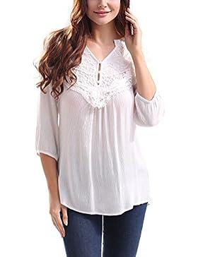 SunIfSnow -  Magliette a maniche corte  - Basic - Maniche lunghe  - Donna