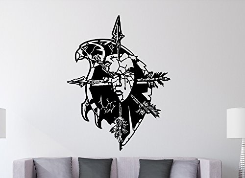 World of Warcraft – Wappen der Verlassenen Wandtattoo