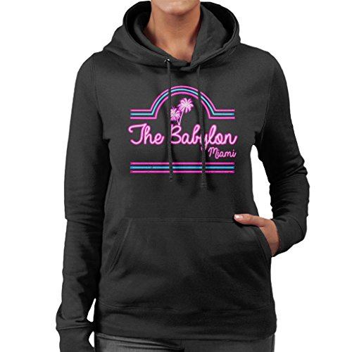 Scarface Babylon Club Miami Women's Hooded Sweatshirt