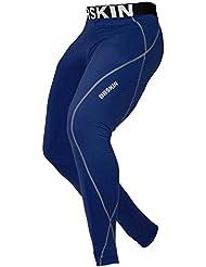 [DRSKIN] DN02 Compression Tight Pants Compression couche de base de course Pantalons Hommes Femmes Collant