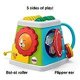 Mattel Fisher-Price-Cubo giros y sorpresas, Juguetes Aprendizaje bebés +6 Meses FYK64