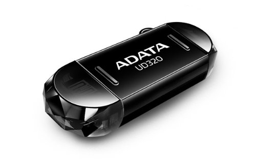 Adata DashDrive Durable UD320 USB 3.0 32GB Pen Drive (Black)