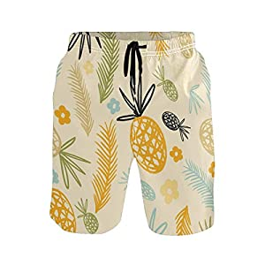 LUPINZ Pantalones Cortos de piña