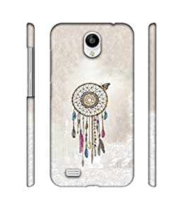 NattyCase Wall Hanging Design 3D Printed Hard Back Case Cover for Vivo Y21L