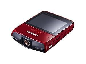 Canon Legria mini Full HD Camcorder (6,8 cm (2,7 Zoll) LCD-Display, 12 Megapixel CMOS-Sensor, WiFi, SD-Kartenlslot) rot