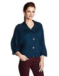 People Womens Sweater (P20401185012237_Dark Blue_M)
