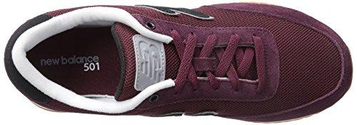 New Balance Mz501 RPB, Scarpe da Fitness Unisex – Adulto Ciliegia/cioccolato con acciaio