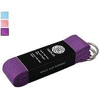 Yamkas cinghia di yoga - 100% cotone – anello D