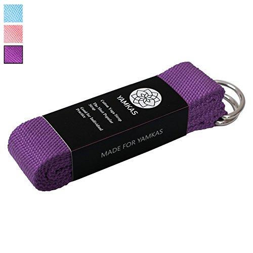 yoga-gurt-100-baumwolle-mit-stabilem-metall-ring-verschluss-strap-in-verschiedenen-farben-erhaltlich