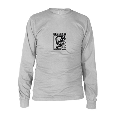 Wanted Arrow - Herren Langarm T-Shirt, Größe: XXL, Farbe: (Dc Universum Green Lantern Kostüm)
