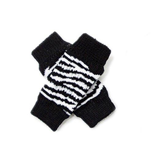 Steellwingsf 4/Set Hund Socken Anti-Rutsch Stulpen Displayschutzfolie, Korsett Packungen mit schützt Wunden Bandage Hilft Arthritis Pet Supplies mit Zebra Leopard Punkte -