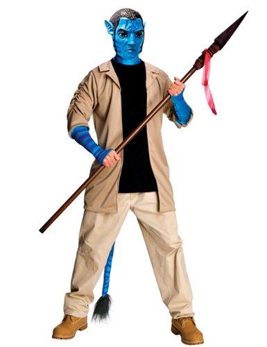 Avatar Jack Sully Herren Kostüm beige blau M/L