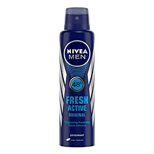 Nivea Fresh Active Original 48 Hours Deodorant, 150ml