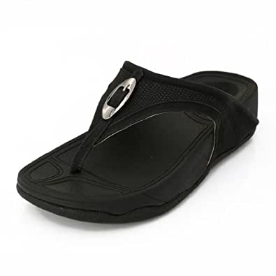 Lord's Women's Fit Flop Black Slippers Size - 6 -4669C61699