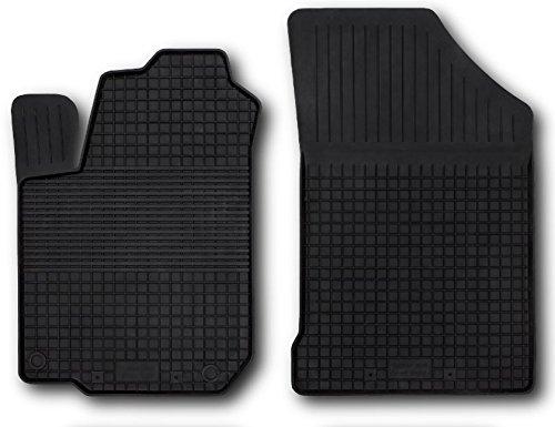 Fußmatten Gummimatten Winter Auto-matten Gummi hoher Rand 2-teilig vorn 2012 Hyundai Elantra Fußmatten