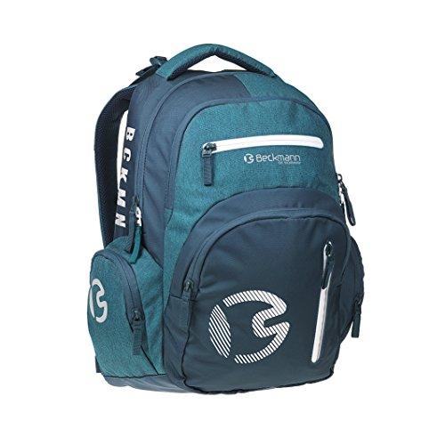 ergonomischer Schulrucksack 30l Sport junior Green