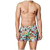 Rcool Costume da Bagno Uomo Pantaloncini da Spiaggia Mare Costumi da Bagno Piscina Casual Asciugatura Rapida Stampa di Frutta Boxershorts per Nuoto,Casual,Surf
