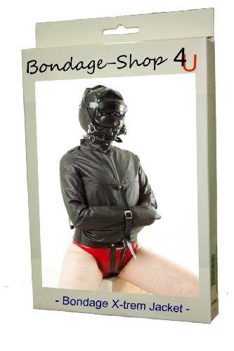 Zwangsjacke Extrem Bondage BDSM Jacke