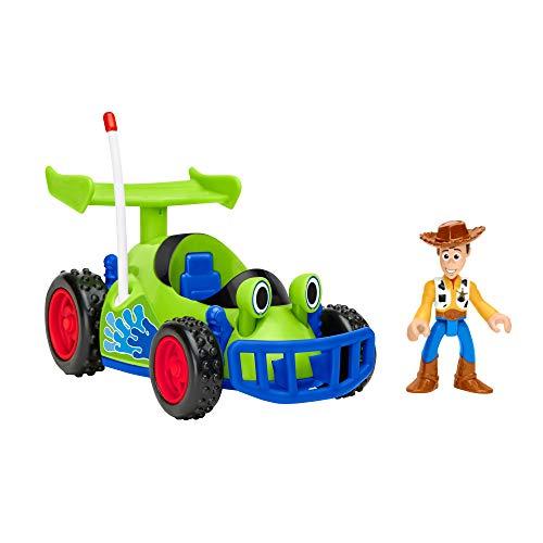 Fisher-Price Mattel - GFR99 Imaginext - Disney: Pixar Toy Story - Woody & Racing Car - Set mit Spielfigur und Fahrzeug (Disney Cars Fisher Price)