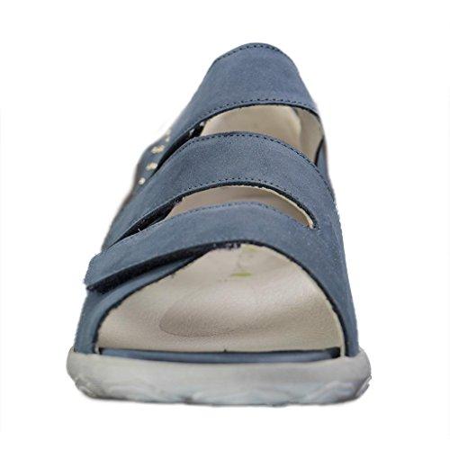 Waldläufer 334803-191-206, Sandali donna Denim (Jeans)