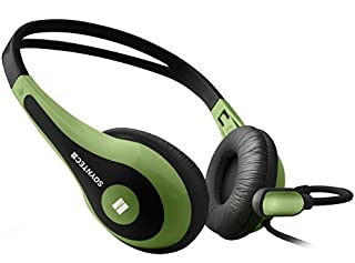 Soyntec NETSOUND 500 Green - Auriculares con micrófono tipo diadema, color negro y verde (B003IJZVZO) | Amazon price tracker / tracking, Amazon price history charts, Amazon price watches, Amazon price drop alerts