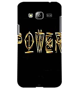 SAMSUNG GALAXY J3 POWER Back Cover by PRINTSWAG