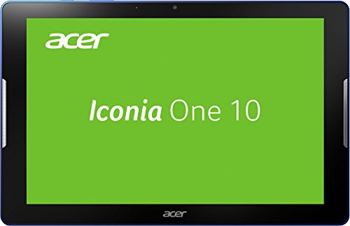 Acer Iconia One 10 (B3-A30) 25,65 cm (10,1 Zoll) HD Tablet-PC (ARM Cortex-A53 Quad-Core, 1,3 GHz, 1 GB RAM, 16 GB eMMC, Android 6.0 Marshmallow) blau