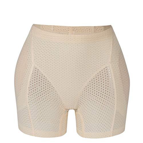 gounure Breathable Butt Lifter - Gepolsterte Kontrollhöschen - Hip Enhancer Boyshorts (Butt Lifter Und Hip Enhancer)