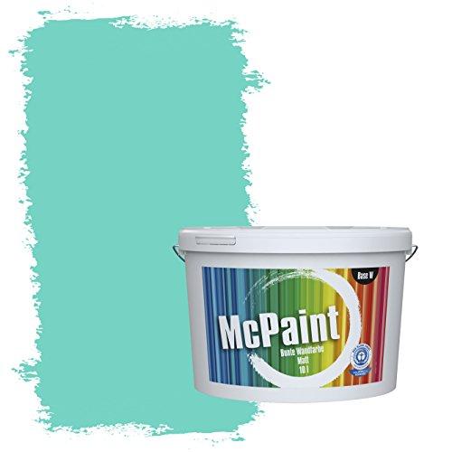 McPaint Bunte Wandfarbe Karibik - 2,5 Liter - Weitere Blautöne Erhältlich - Weitere Größen Verfügbar