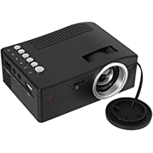 Unic UC18 HD 400lm 1080P Mini LED Proyector Multimedia Cinema USB TV HDMI Home Theater US