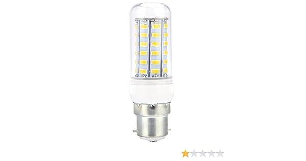 TOOGOO B22 3W LED Ampoules a baionnette Lampes a economie denergie Lumiere blanc 220V