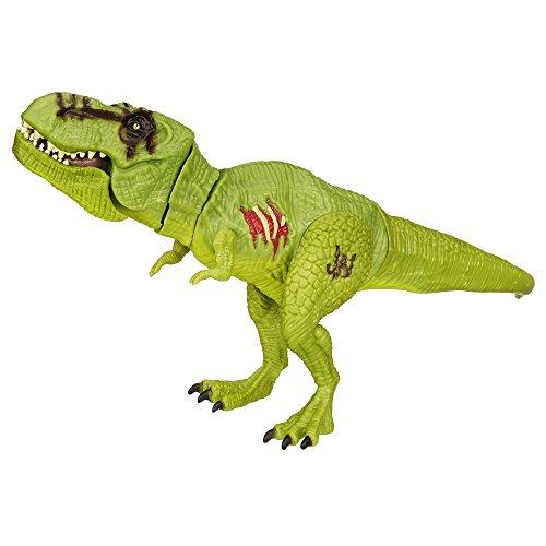 Jurassic World Tyrannosaurus Rex beweglich und mit Funktion - grüne Version