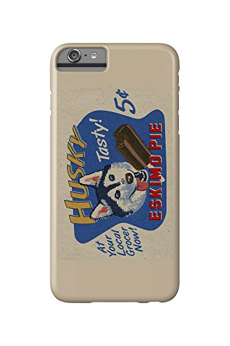 husky-eskimo-pie-retro-ad-iphone-6-plus-cell-phone-case-slim-barely-there
