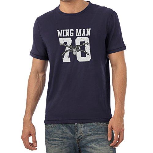 TEXLAB - Wing Man 70 - Herren T-Shirt Navy