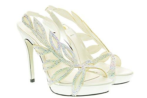 O6 MILANO donna sandali SA0310 BIANCO 38 Bianco