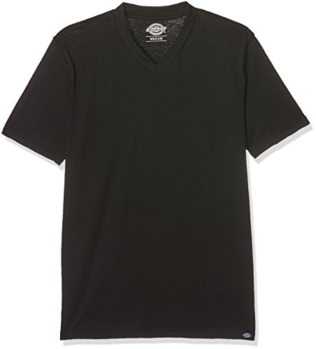 Dickies Herren T-Shirt V Neck 3er Pack,Schwarz,X-Large - 3-pack-v-neck T-shirt