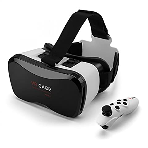 Rusty Bob - 3D VR Virtual Reality Glasses - Movies games - Bluetooth Controller-universal (4